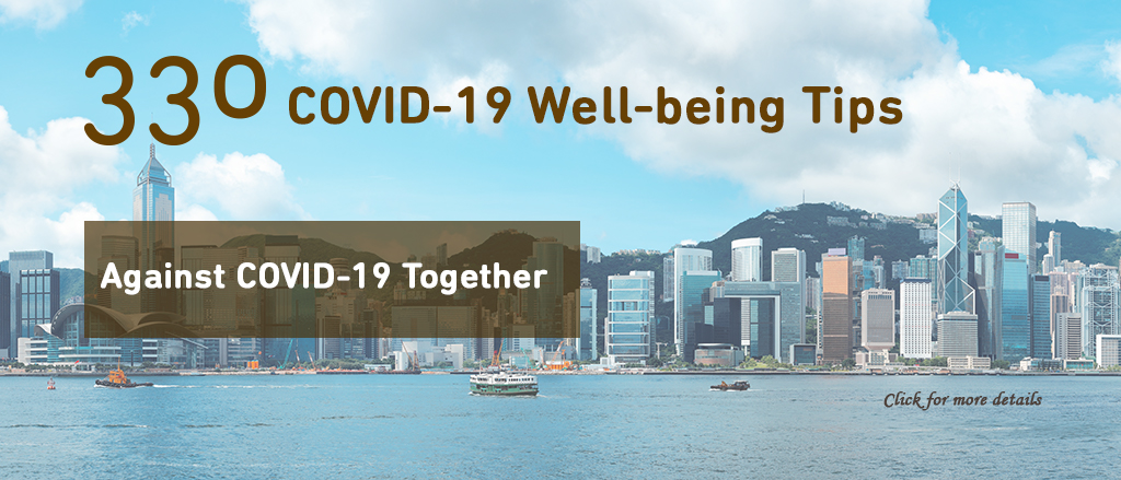 Covid-19 WELL-BEING TIPS
